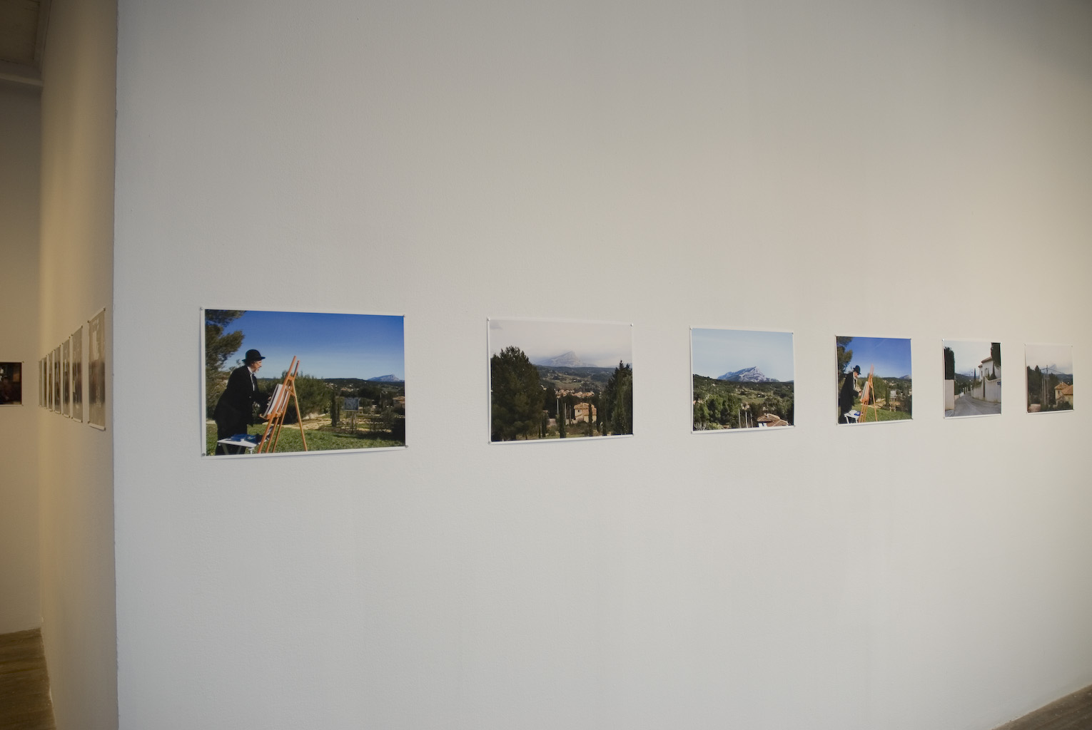 Cézanne's Eyes and Hands, 2009 installation view 1 - Oboro Gallery