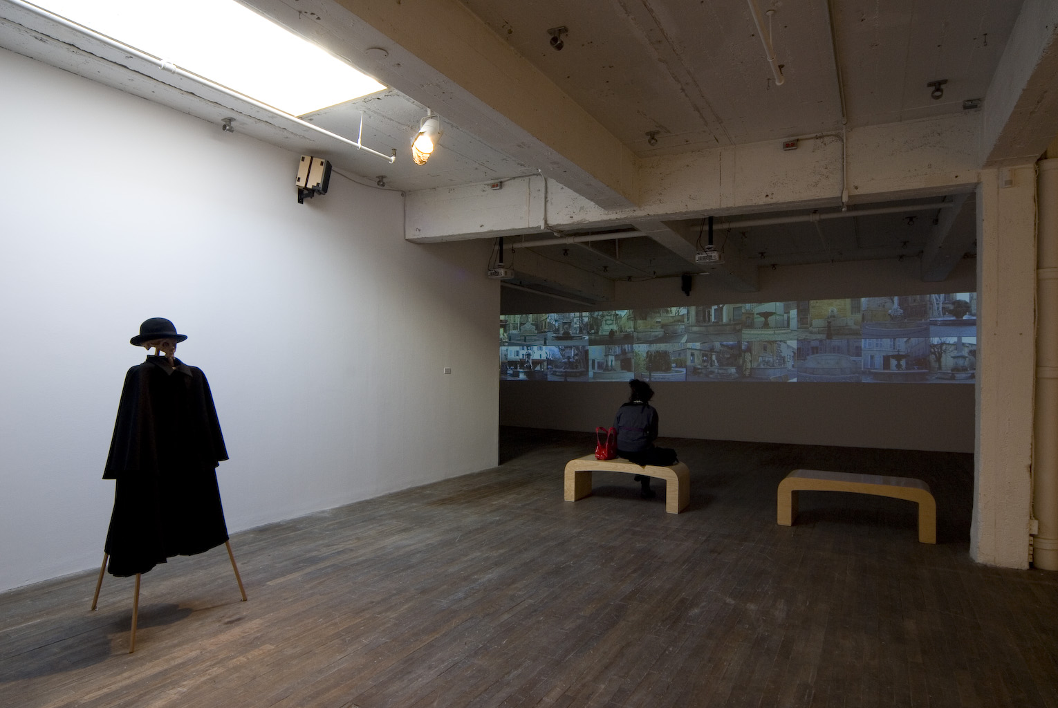 Cézanne's Eyes and Hands, 2009, installation view 4 - Oboro Gallery