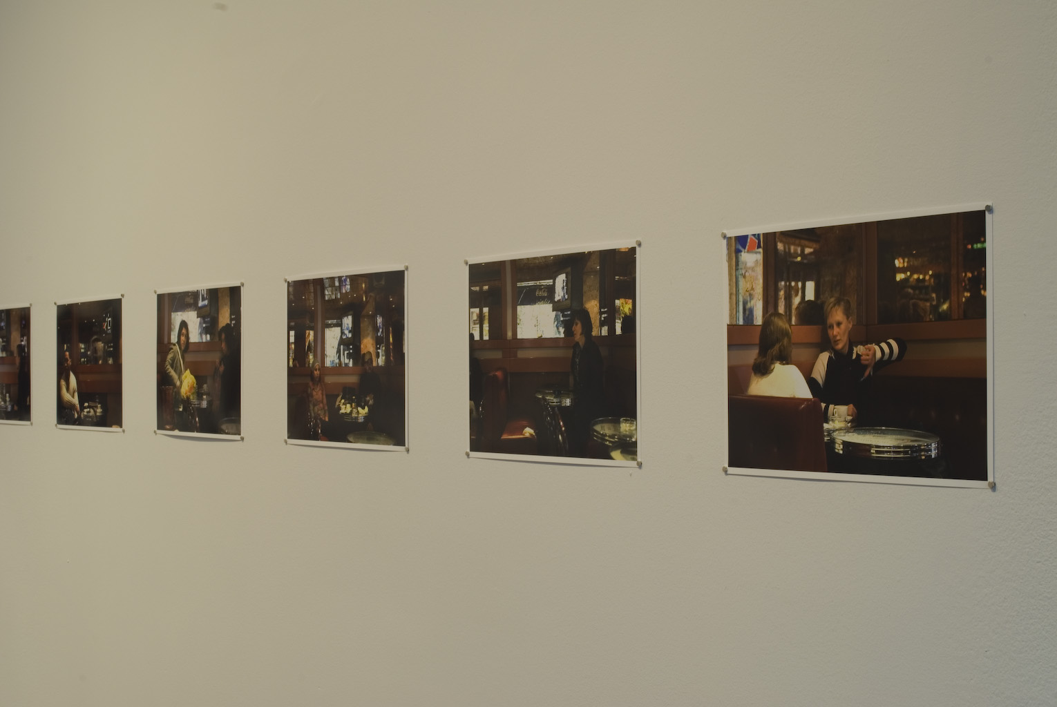 Cézanne's Eyes and Hands, 2009, installation view 2 - Oboro Gallery