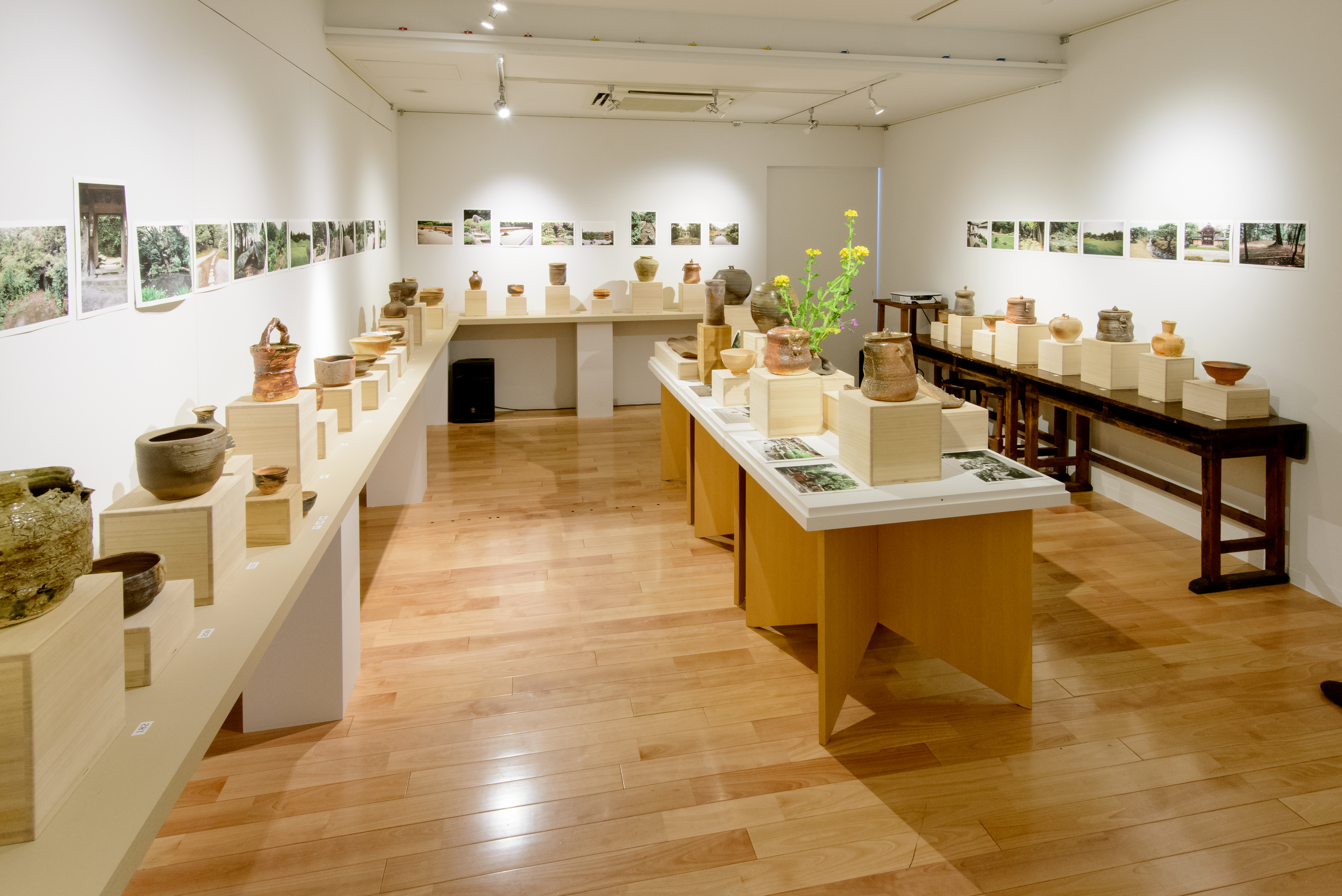 Pottery and Japanese Garden Images: Shaping the Bernard Leach Legacy (gallery view 1) | 2015 Wakayama Museum, Ginza, Tokyo