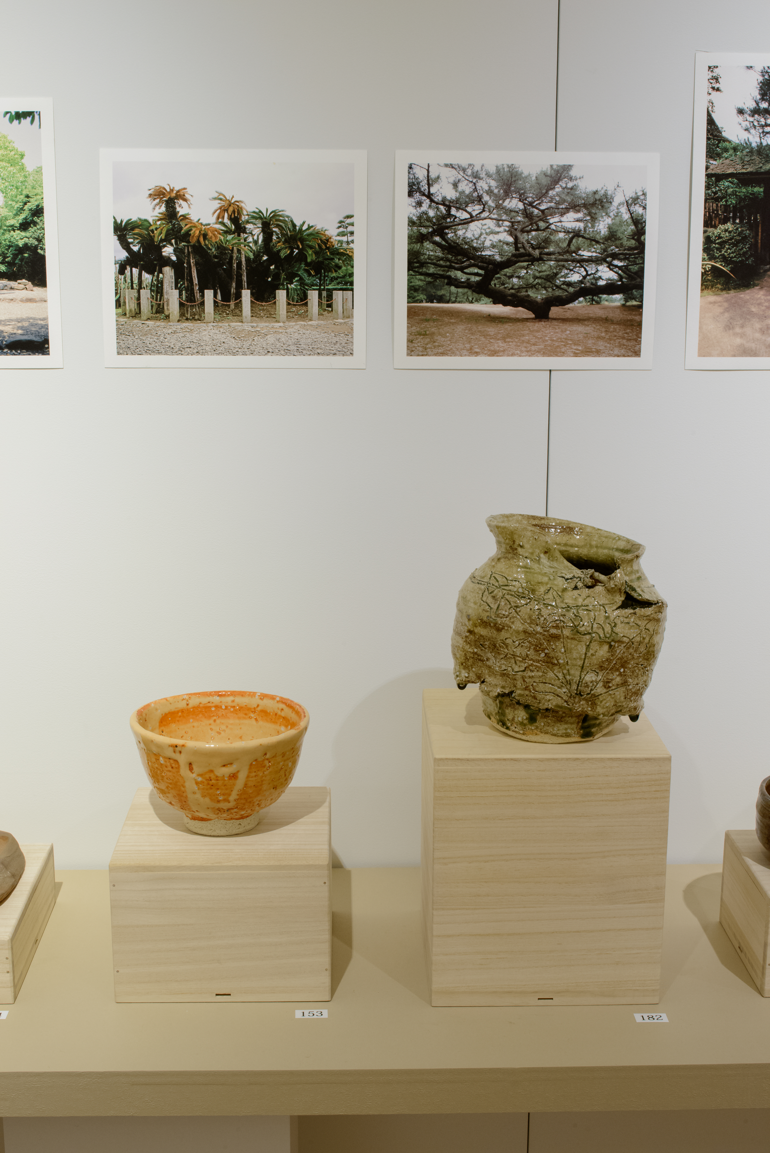Pottery and Japanese Garden Images: Shaping the Bernard Leach Legacy (gallery view 3) | 2015 Wakayama Museum, Ginza, Tokyo