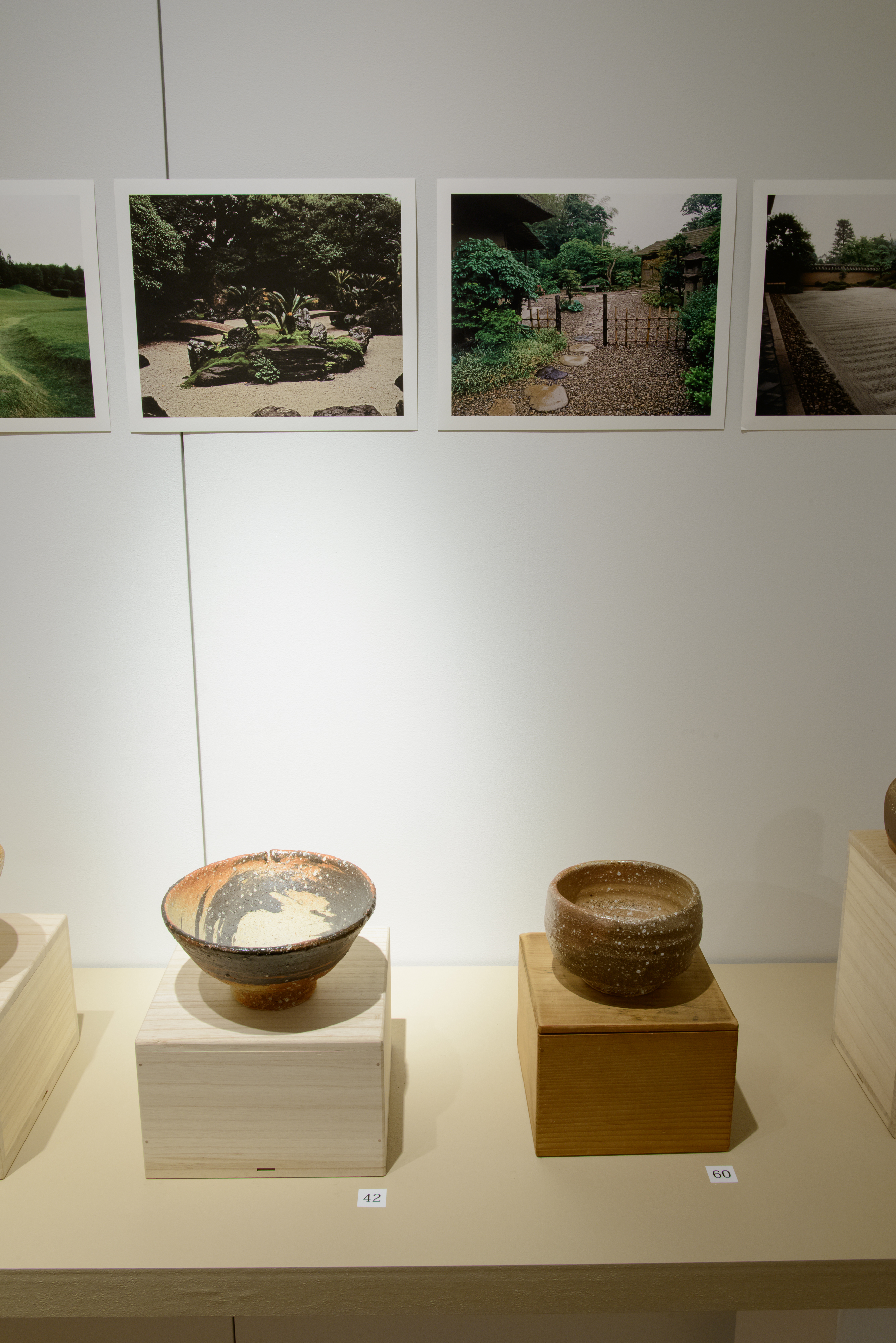 Pottery and Japanese Garden Images: Shaping the Bernard Leach Legacy (gallery view 4) | 2015 Wakayama Museum, Ginza, Tokyo